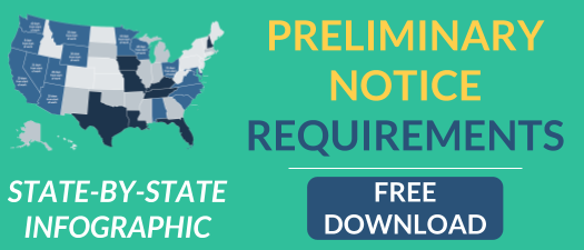 preliminary notice requirements