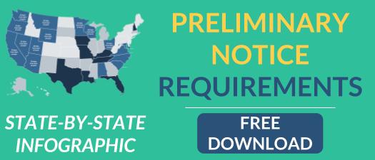 preliminary notice requirements