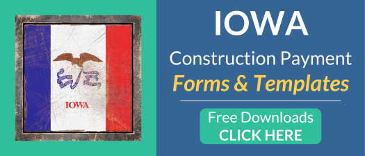 Iowa Free Construction Payment Forms and Templates