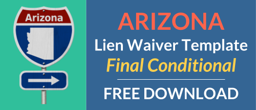 Arizona Waiver Final Conditional