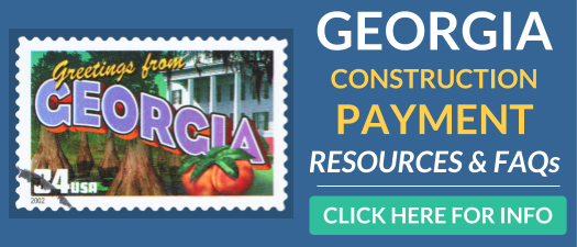 Georgia Construction Payment Resources