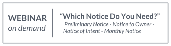 Webinar: Which Notice Do You Need?