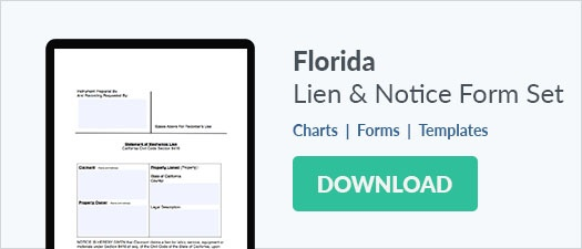 Florida Mechanics Lien & Notice Forms Download