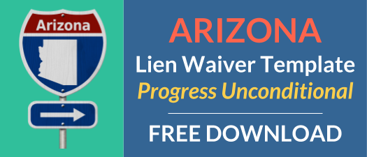 Arizona Waiver Progress Unconditional
