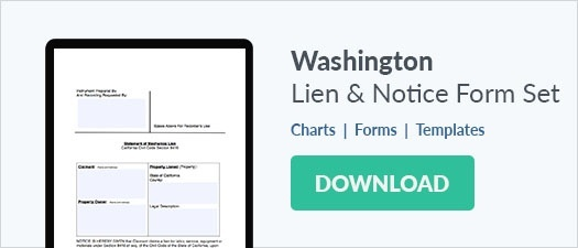 Washington Mechanics Lien Form