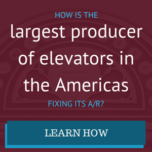 How is the largest producer of elevators in the Americas fixing its A/R