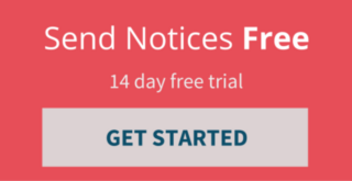 Send free preliminary notices for 14 days