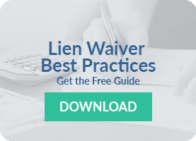Lien Waivers Best Practices Guide