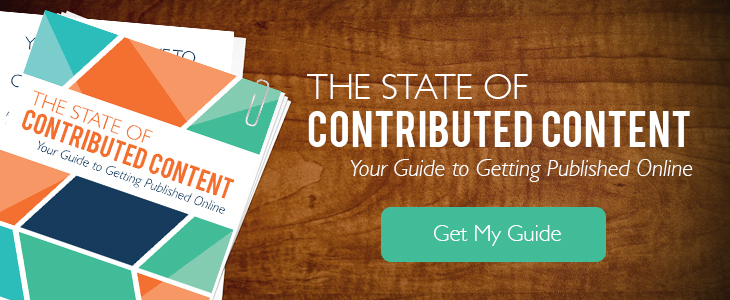 "Download ""The State of Contributed Content""—Your Guide to Getting Published Online"