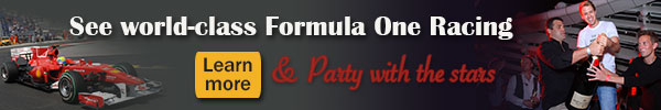 Travel to Monaco for F1 Races and fabulous parties