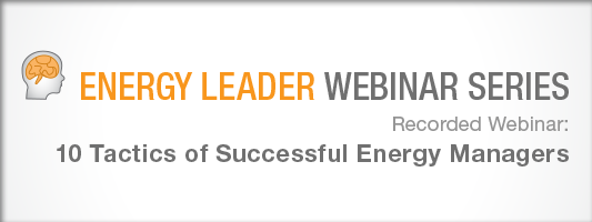 SJ Bergman: 10 Tactics of Successful Energy Managers
