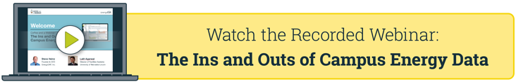 Recorded Webinar: Ins and Outs of Campus Energy Data