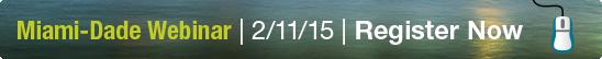 Register for the Miami-Dade Energy Management Webinar!