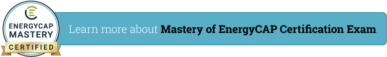 Mastery of EnergyCAP Cert Exam