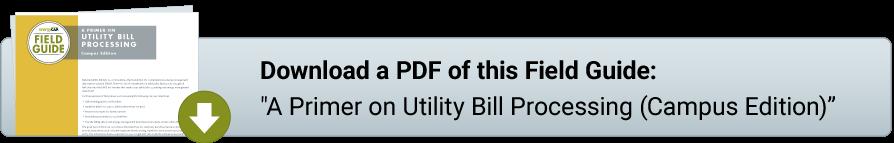 FG PDF: Primer on Utility Bill Processing (CAMPUS)