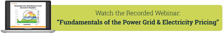 Webinar: Fundamentals of the Power Grid and Electricity Pricing