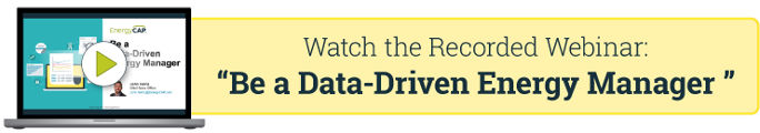 Recorded Webinar: Be a Data-Driven Energy Manager