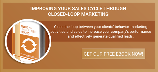 Download the Improving Your Sales Cycle Through Closed-Loop Marketing Today!
