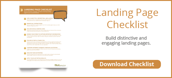 Build a distinctive and engaging landing page for Healthcare Brand. Download Checklist