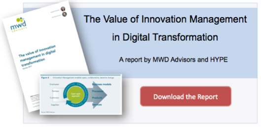 download the digital transformation and innovation management report
