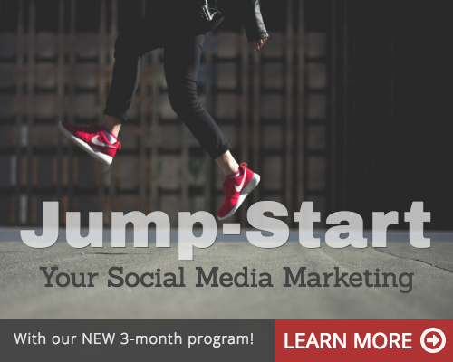 Jump Start your social media marketing 3 month program