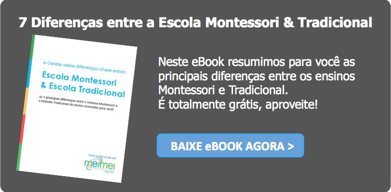 Diferenças entre escola Montessori e Tradicional