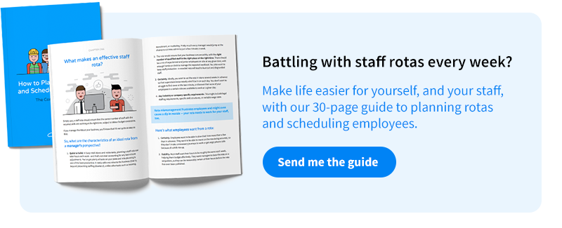 Download our fee guide to employee scheduling