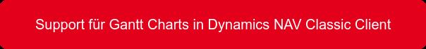 Support für Gantt Charts in Dynamics NAV Classic Client