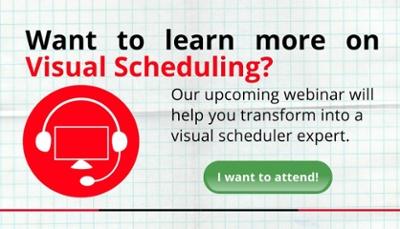 Visual Scheduling Webinar CTA
