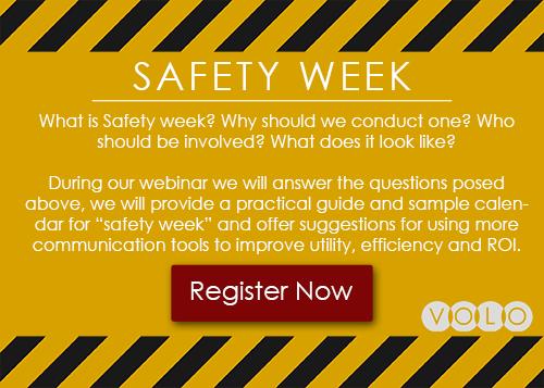 Register for Safety Week