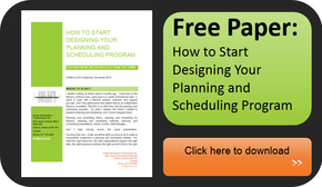 Solufy how to start designing a planning and scheduling program