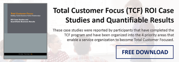 Total Customer Focus ROI Case Studies