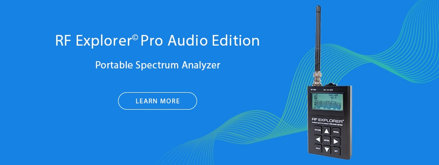 RF Explorer Pro Audio Edition