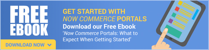 Getting Started with Now Commerce Portals