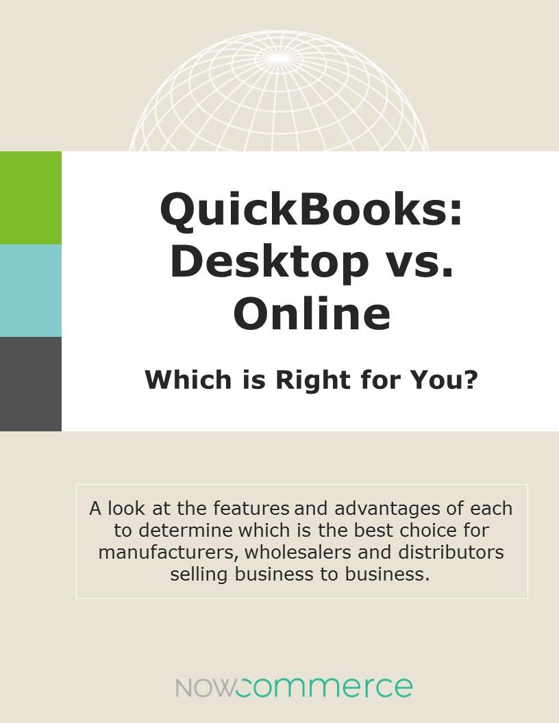 Quickbooks Desktop vs Online - Which is right for you?