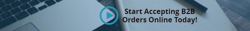 B2B orders online