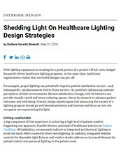 Shedding Light On Healthcare Lighting Design Strategies