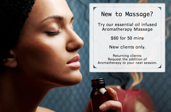 massage therapy deal aromatherapy coupon