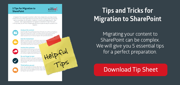 Tips for Data Migration to SharePoint