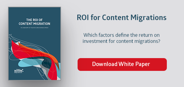 ROI for content and data migrations