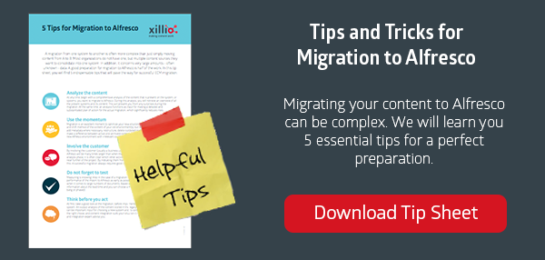 Tips for Data Migration to Alfresco