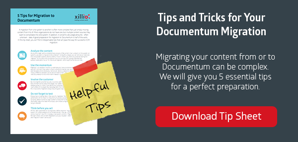 Tips for Your Documentum Content Migration