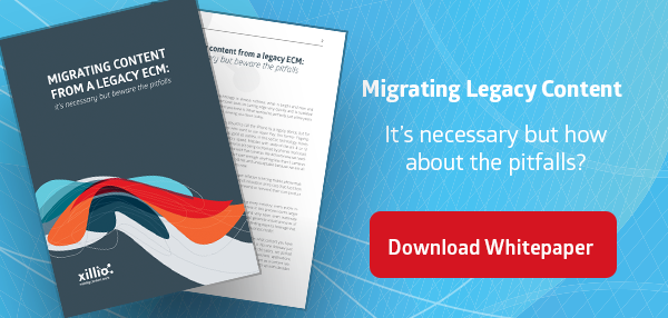 Whitepaper Migrating Content from a legacy ECM