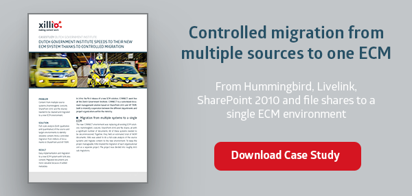Migrate Hummingbird, Livelink, SharePoint and file shares