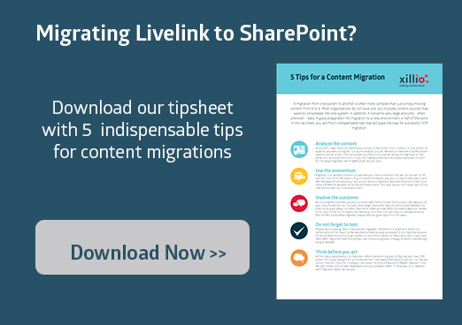 Migrate Livelink to SharePoint