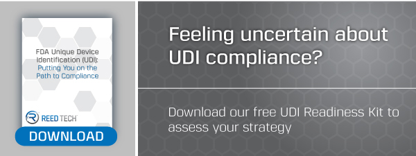 Download the free Reed Tech UDI Readiness Kit here