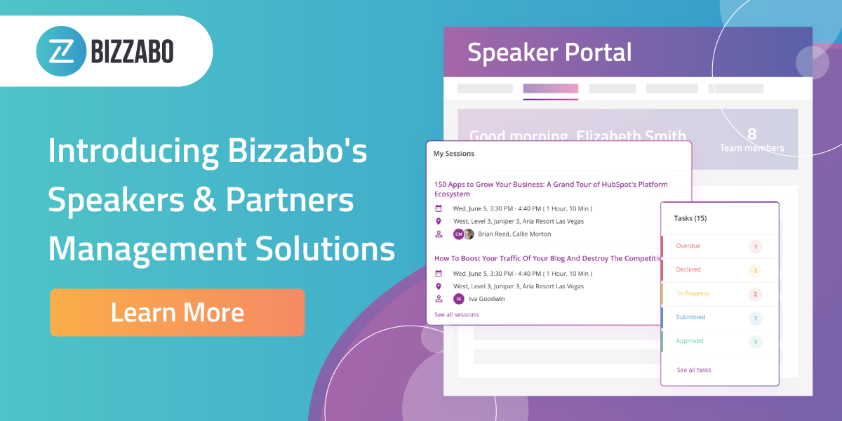 Partners and Speakers Management Solutions - Learn More