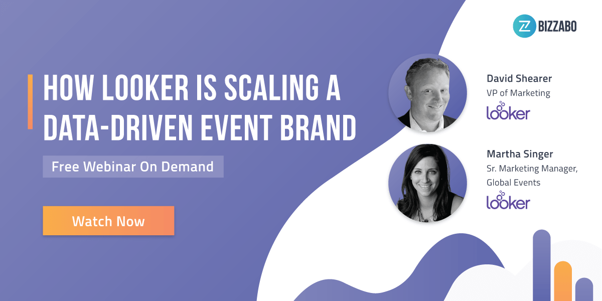 How Looker Is Scaling A Data-Driven Event Brand - Webinar CTA