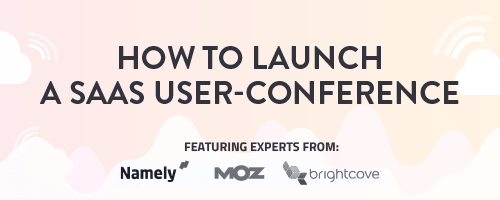 Webinar about how to plan a SaaS use conference