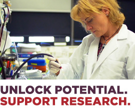 Unlock potential. Support research.